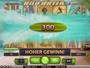 Slot Wild Water im Online Casino Test