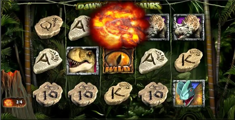 Slot Spiel Dawn of the Dinosaurs