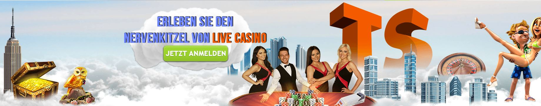 Time Square Casino Bonus