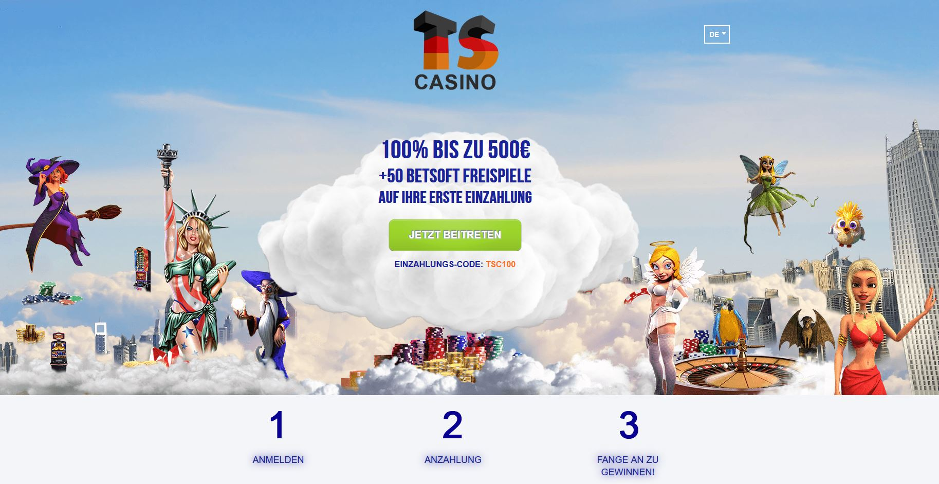 Time Square Casino Bonus 2019