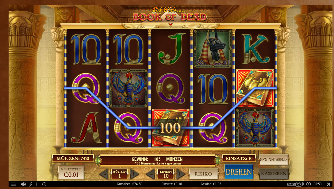 Online slot casino test