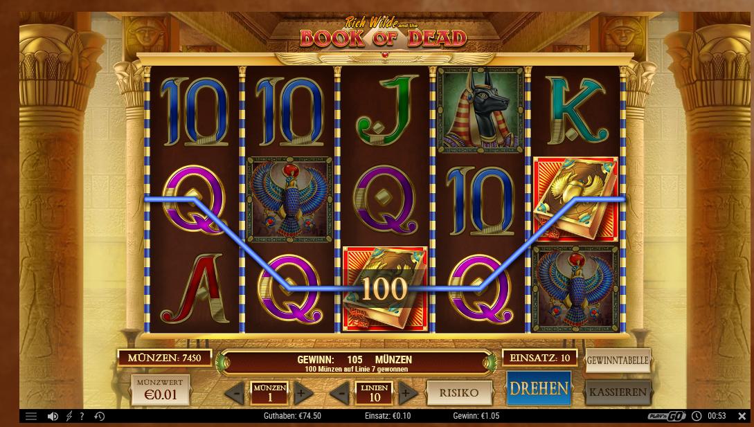 Book Of Dead Online Casino