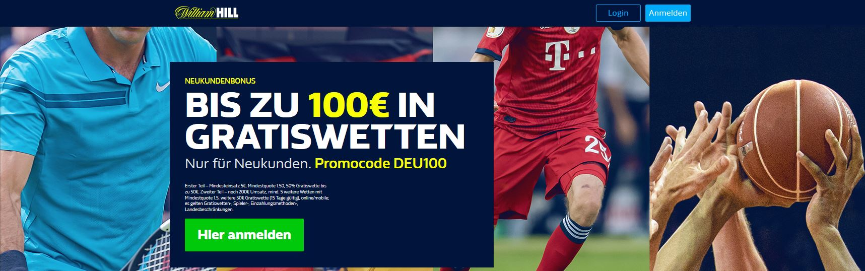 William Hill F25 Promo Code